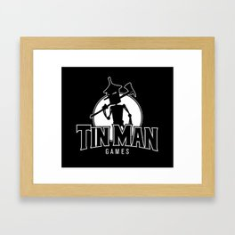 Tin Man Games logo Framed Art Print