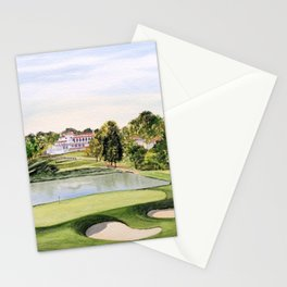 The Congressional Golf Course 10th Hole Stationery Cards