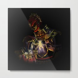 ganon and his puppet Metal Print