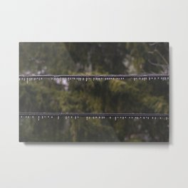 Zwei Metal Print