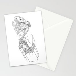 Input-Output Stationery Cards