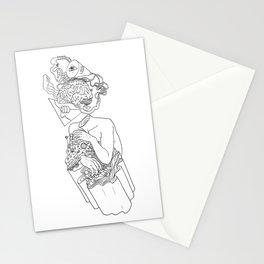 Input-Output Stationery Cards