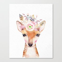 Forest Fawn by Nature Magick Canvas Print