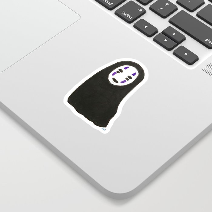 lil No Face / Spirited Away Sticker
