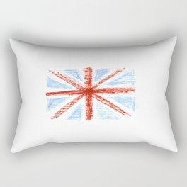 Flag of UK 10- London,united kingdom,england,english,british,great britain,Glasgow,scotland,wales Rectangular Pillow