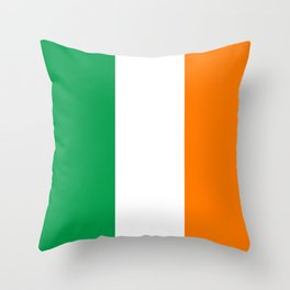 Flag of Ireland - Irish Flag Throw Pillow