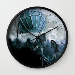 To the light Wall Clock