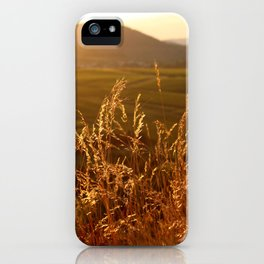 Gold Warm Light - JUSTART © iPhone Case