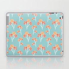anemone flowers :: sea mist Laptop & iPad Skin