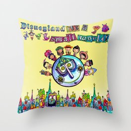 Happiest Cruise Ever Throw Pillow