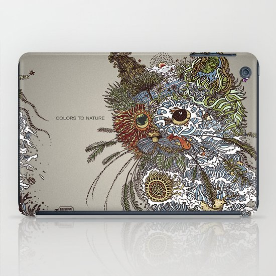 Colors to Nature. iPad Case
