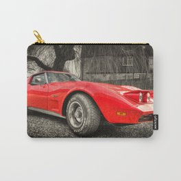 Little Red Stingray Carry-All Pouch