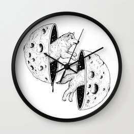 To Dream (A Constant Chase) Wall Clock