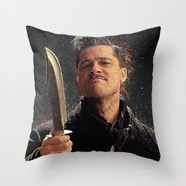Lt. Aldo Raine Throw Pillow