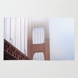 Golden Gate Clouds Rug