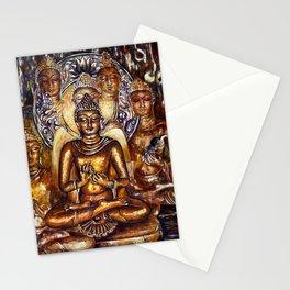 Gold Buddha Stationery Cards