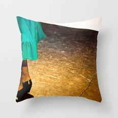 flamenco#2 Throw Pillow