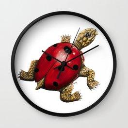 Ladybug Turtle Wall Clock