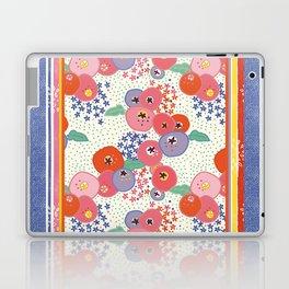 Floral rug Laptop & iPad Skin