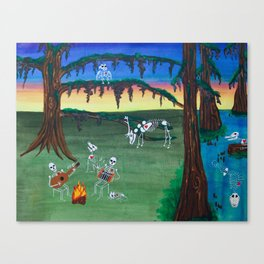 Beautiful Bodies Farm Scene Canvas Print