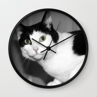 elmo Wall Clocks featuring Elmo by Paul & Fe Photography