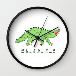 Alligator Wall Clock