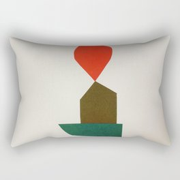 Cacho Shapes - Cutouts 2 Rectangular Pillow