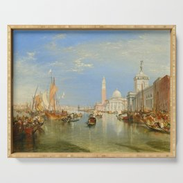 """J.M.W. Turner """"Venice - The Dogana and San Giorgio Maggiore"""" Serving Tray"""