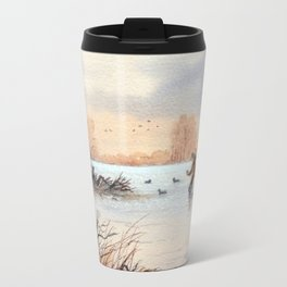 Setting The Decoys I Travel Mug