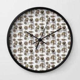 Ernst Haeckel Jellyfish Leptomedusae Wenge Wall Clock