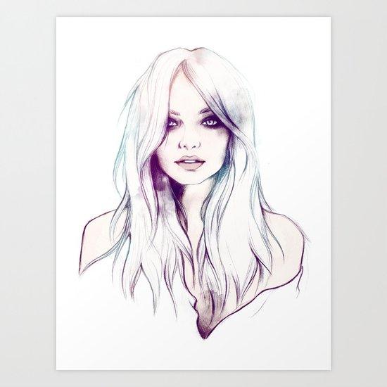 Miranda Kerr Art Print