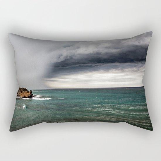 clouds and sea Rectangular Pillow
