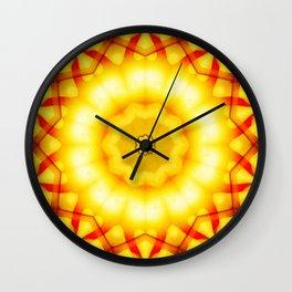 Interwoven Wall Clock