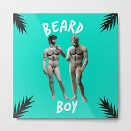 Beard Boy: Adonis 1 Metal Print