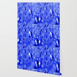 Blue Ornaments Wallpaper