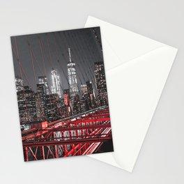 New York City Night Sky Stationery Cards