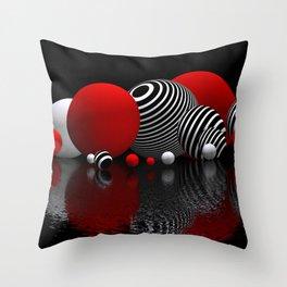 geometric horizons -1- Throw Pillow