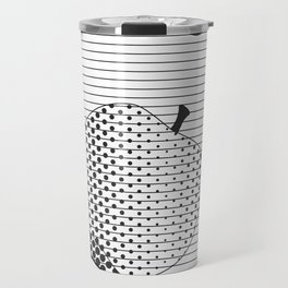 Apple to Paper Travel Mug