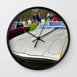 1963 Shelby Bordinat Cobra Roadster Cougar XD Concept Wall Clock