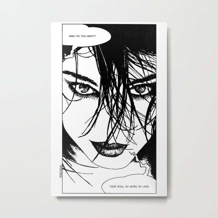 asc 352 - La négotiation (The bargain) Metal Print