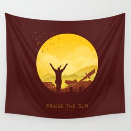 Solaire (Dark Souls) Wall Tapestry