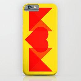 MOM LOVE iPhone Case