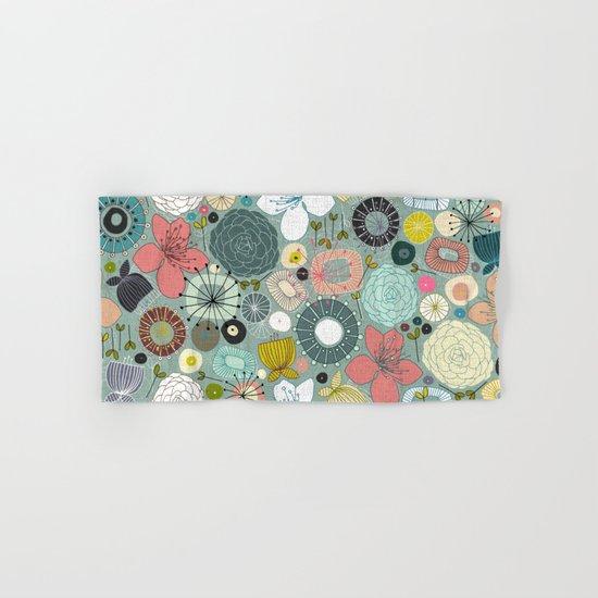 oriental blooms Hand & Bath Towel