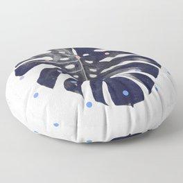 monstera + dots Floor Pillow