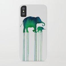 elephant_001 Slim Case iPhone X