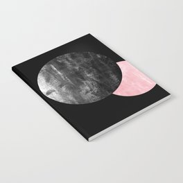 Celeste - space modern minimal abstract painting art urban brooklyn new york los angeles design Notebook