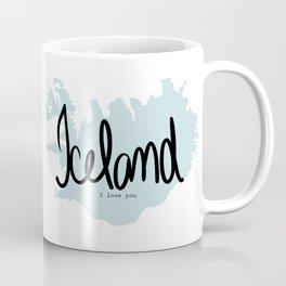 Iceland love Coffee Mug