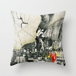Escaping Sisyphus. Throw Pillow