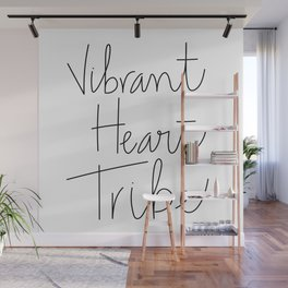 Vibrant Heart Tribe Wall Mural