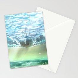 below sky level Stationery Cards